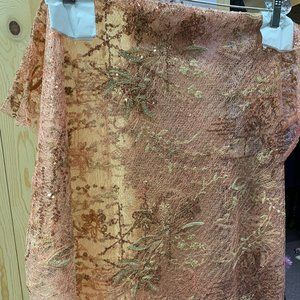 Floral Lace Shawl
